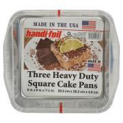 Handi-Foil Heavy Duty Square Cake Pans
