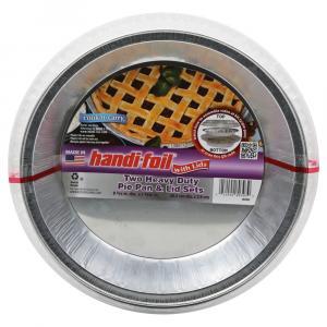 Handi-Foil Heavy Duty Pie Pan & Lid Set