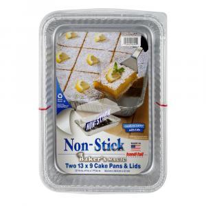 Handi-Foil Non Stick Baker's Magic 13x9 Cake Pans & Lids
