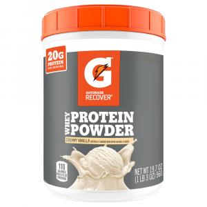 Gatorade Recover Vanilla Whey Protein Powder