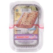 ECO-Foil Cook-N-Carry Loaf Pans with Lids