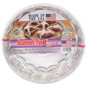 Handi-Foil Round Cake Pans & Lids