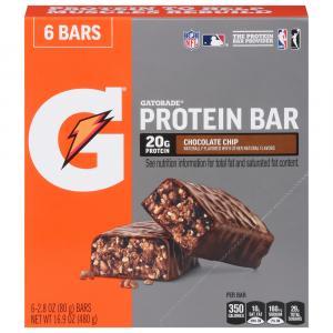 Gatorade Chocolate Chip Whey Protein Bars