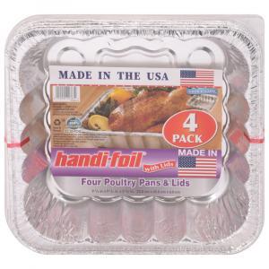 Handi-Foil Poultry Pans & Lids