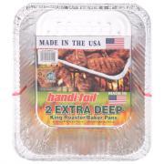 Handi-Foil Extra Deep King Roaster/Baker Pans