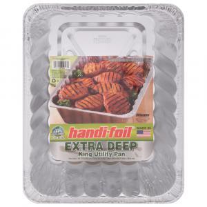 Handi-Foil Eco-Foil Extra Deep BBQ King Utility Pan
