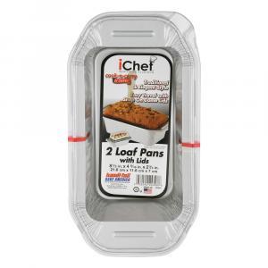 Handi-Foil iChef Loaf Pans with Lids