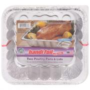 ECO-Foil Ultimates Cook and Carry Poultry Pan with Lid