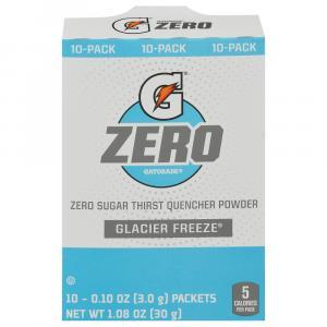 Gatorade Zero Sugar Glacier Freeze Thirst Quencher Powder