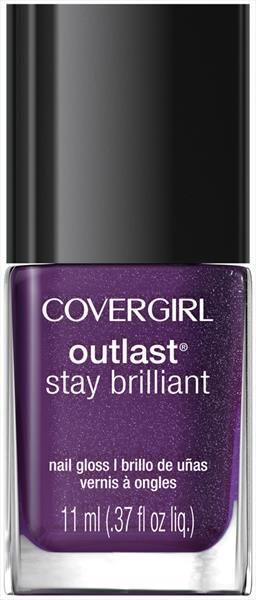 Cover Girl Outlast Nail Gloss - Violet Flicker
