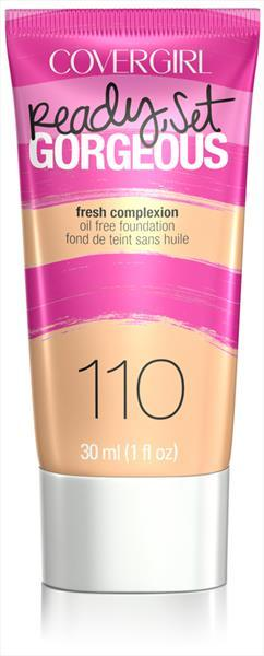 Cover Girl Ready Set Foundation - Cream Natural