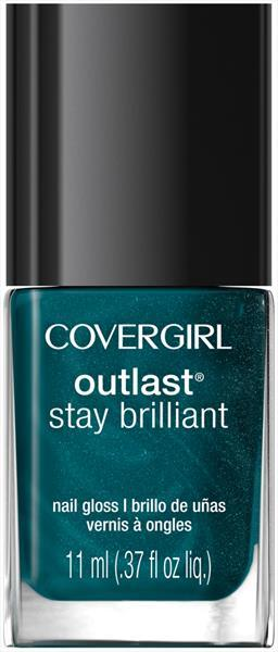 Cover Girl Outlast Nail Gloss - Teal On Fire