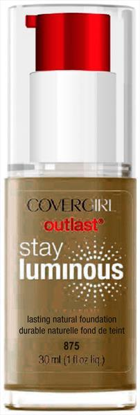 Cover Girl Outlast Stay Luminous Soft Sable Foundation