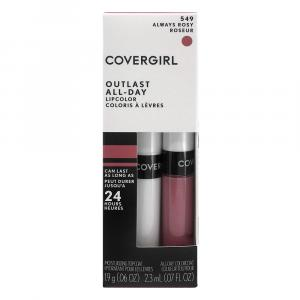 Cover Girl Outlast Lip Color Always Rosy