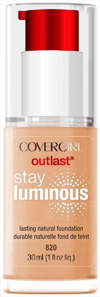 Covergirl Outlast Stay Luminous Creamy Natural Foundation