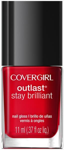 Cover Girl Outlast Nail Gloss - Red Dy and Willing
