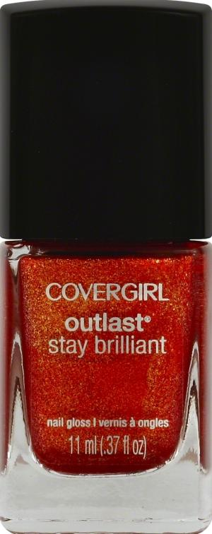 Cover Girl Outlast Nail Gloss - Rogue Red