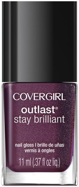 Cover Girl Outlast Nail Gloss - Pyro Pink