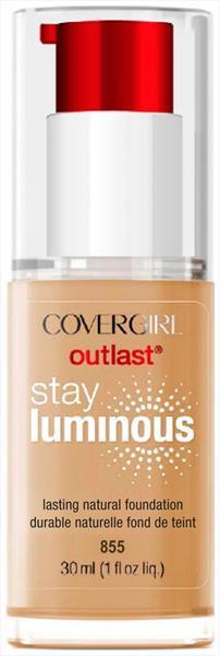 Cover Girl Outlast Stay Luminous Soft Honey Foundation
