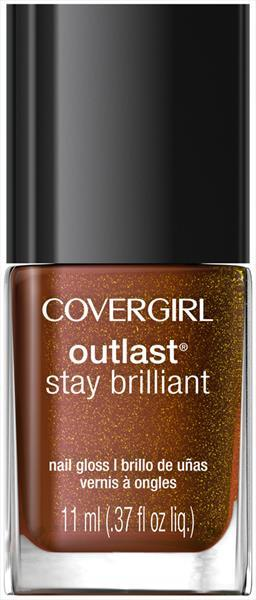Cover Girl Outlast Nail Gloss - Seared Bronze