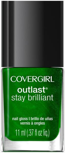 Cover Girl Outlast Nail Gloss - Emerald Blaze