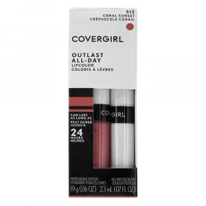 Cover Girl Outlast Lip Color - Coral Sunset