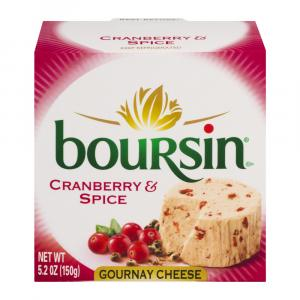 Boursin Cranberry & Spice Gournay Cheese