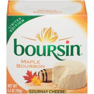 Boursin Maple Bourbon Gournay Cheese