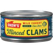 Snow's Minced Clams