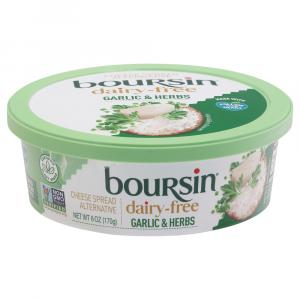 Boursin Dairy Free Garlic & Herb Cheese