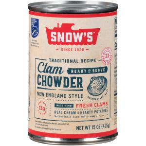 Snow's Ready to Serve Clam Chowder