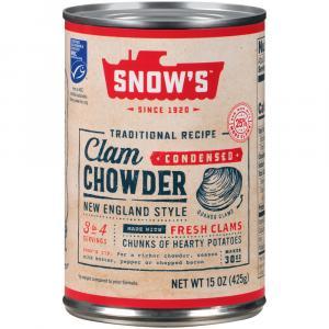 Snow's Clam Chowder