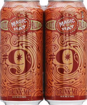 Magic Hat Brewing Company #9 Not Quite Pale Ale