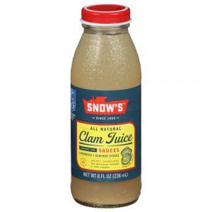 Snow's Clam Juice