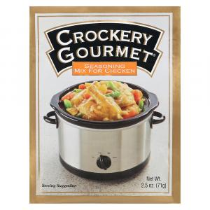 Crockery Gourmet Chicken Seasoning Mix