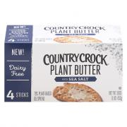 Country Crock Plant Butter Quarters with Sea Salt