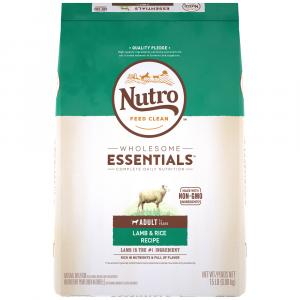 Nutro Wholesome Essentials Adult Dog Food Lamb Flavor