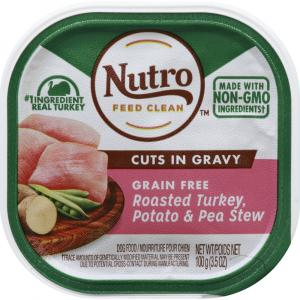 Nutro Petite Eats Roasted Adult Turkey & Vegetable Entree