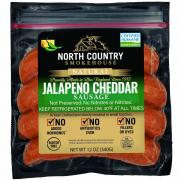 North Country Jalapeno Cheddar Sausage