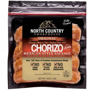 Applewood Smoked Chourico Brandy Sausage