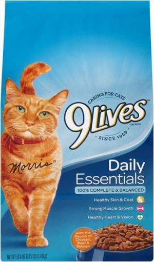 9Lives Daily Essentials Cat Food