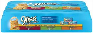 9lives Variety Pack Canned Cat Food