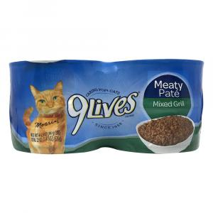 9lives Meaty Pate Mixed Grill Cat Food