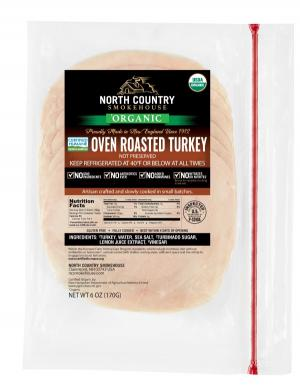 North Country Gluten Free Oven Roasted Turkey Breast