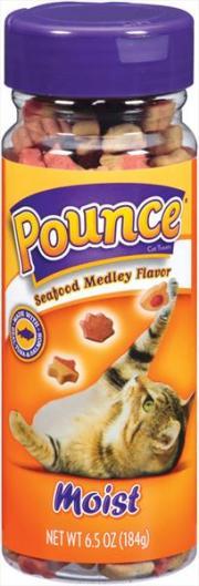 Pounce Seafood Medley Cat Treats