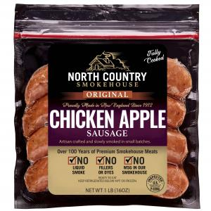North Country Applewood Apple Chicken Sausage