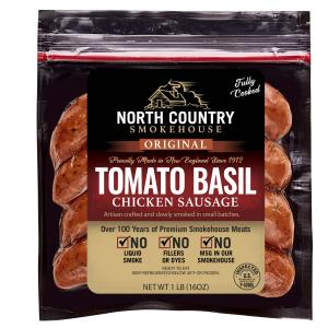 Applewood Smoked Tomato & Basil Chicken Sausage