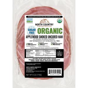 North Country Organic Sugar Free Applewood Smoked Ham
