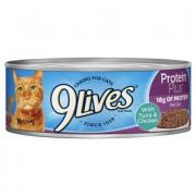 9Lives Protein Plus with Tuna & Chicken