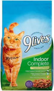9Lives Indoor Complete Salmon and Chicken Cat Food